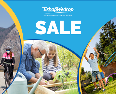 Sales - Garden furniture, outdoors toys and garden supplies