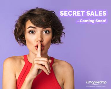 Το Secret Sales Event του καλοκαιριού!